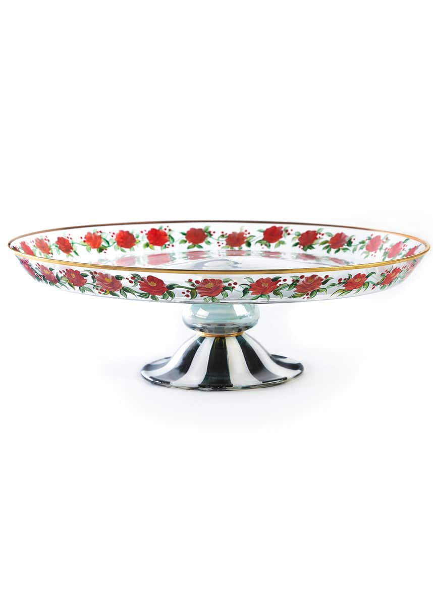 MacKenzie-Childs Heirloom Cake Stand
