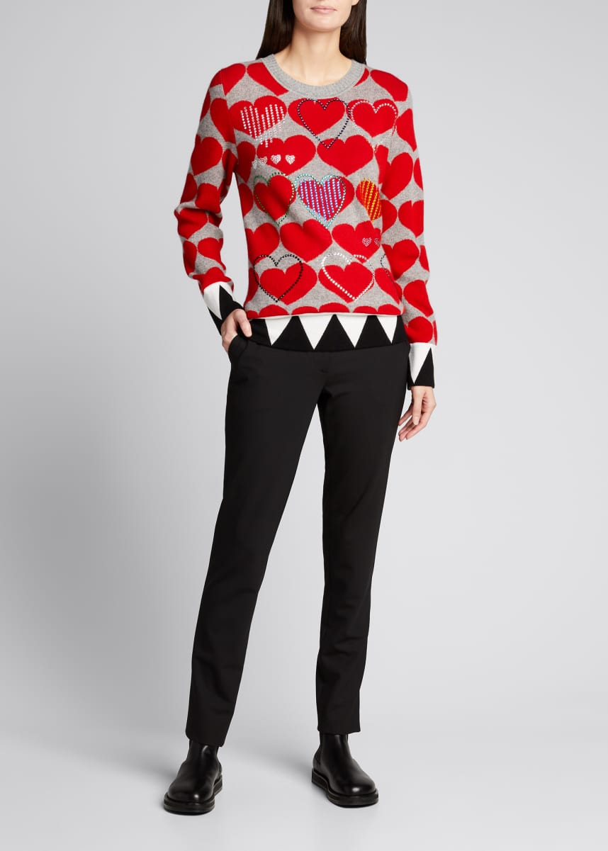 Libertine Love Embellished Cashmere Sweater