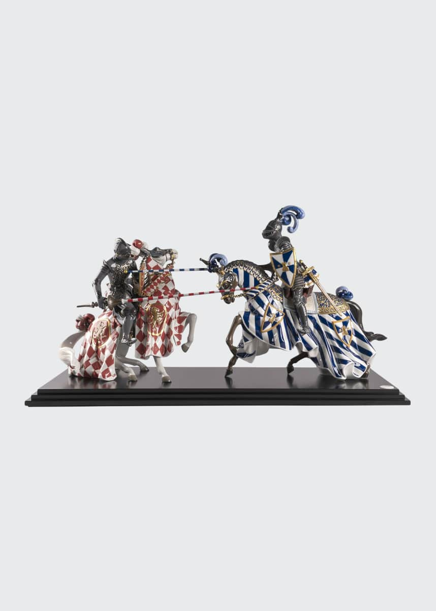 Lladro Medieval Tournament Sculpture