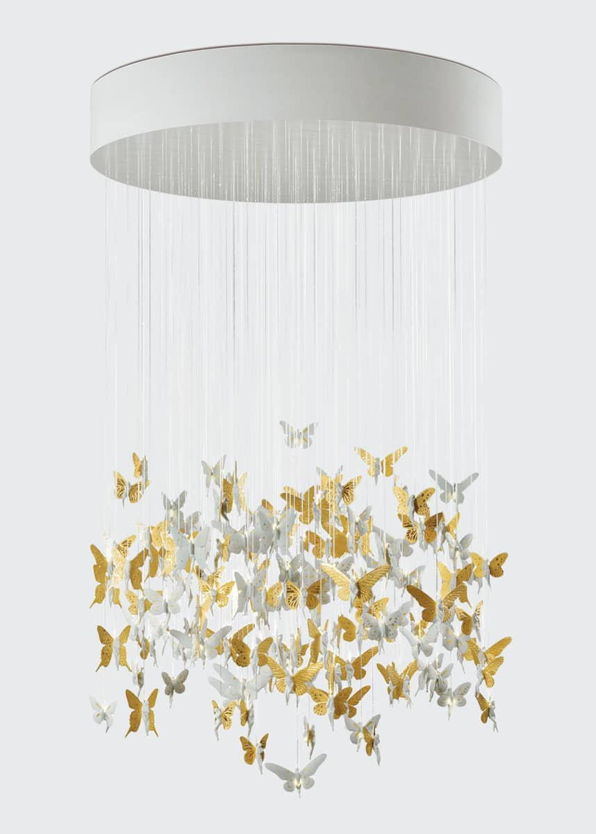 Lladro Golden Niagara Chandelier