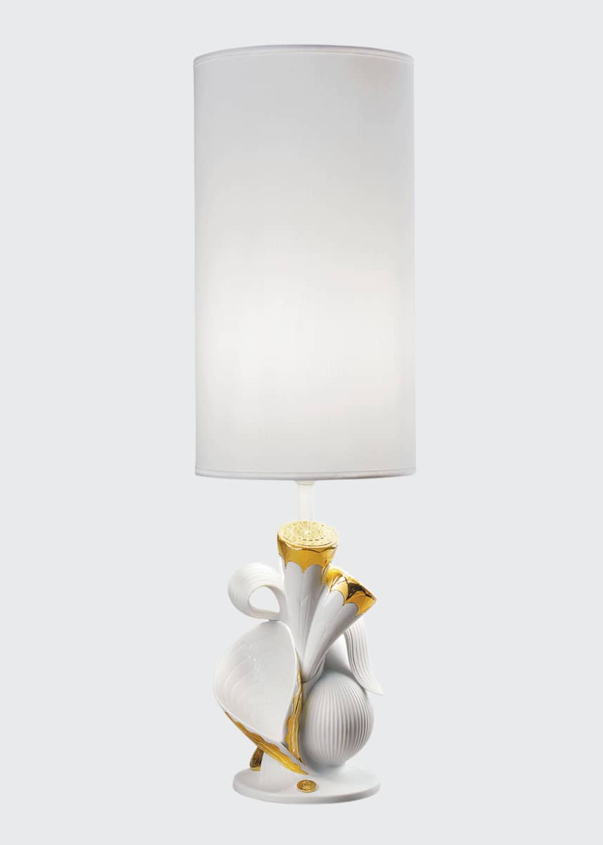 Lladro Naturofantastic Living Nature Table Lamp