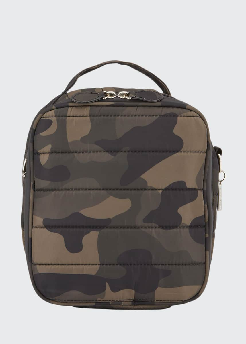 Bari Lynn Kids' Camo Quilted Lunchbox