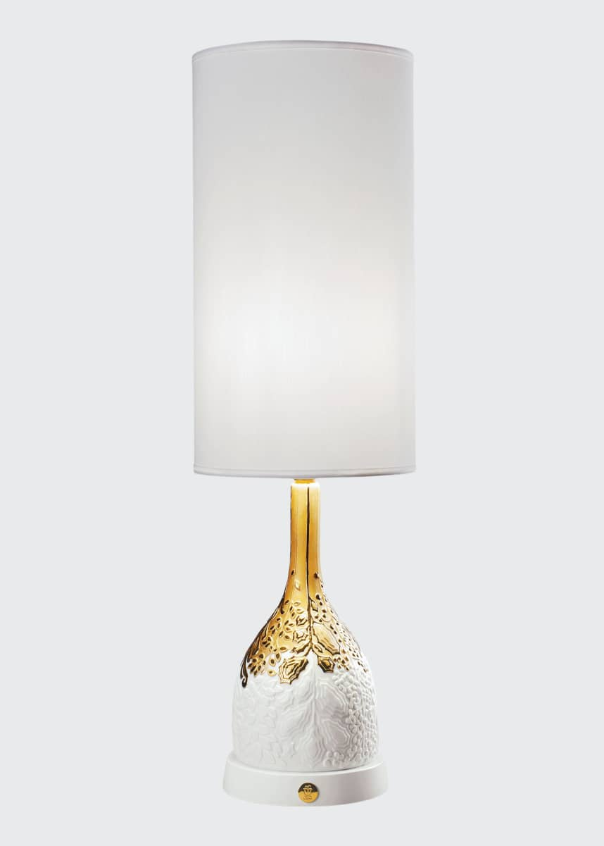 Lladro Naturofantastic Organic Nature Table Lamp