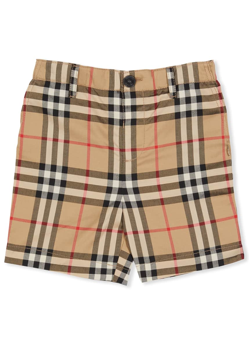 Burberry Boy's Sean Icon Stripe Shorts, Size 6 Months-2