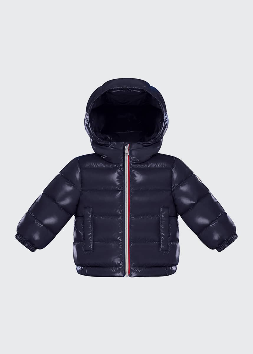 Moncler Aubert Quilted Puffer Jacket, Size 12M-3