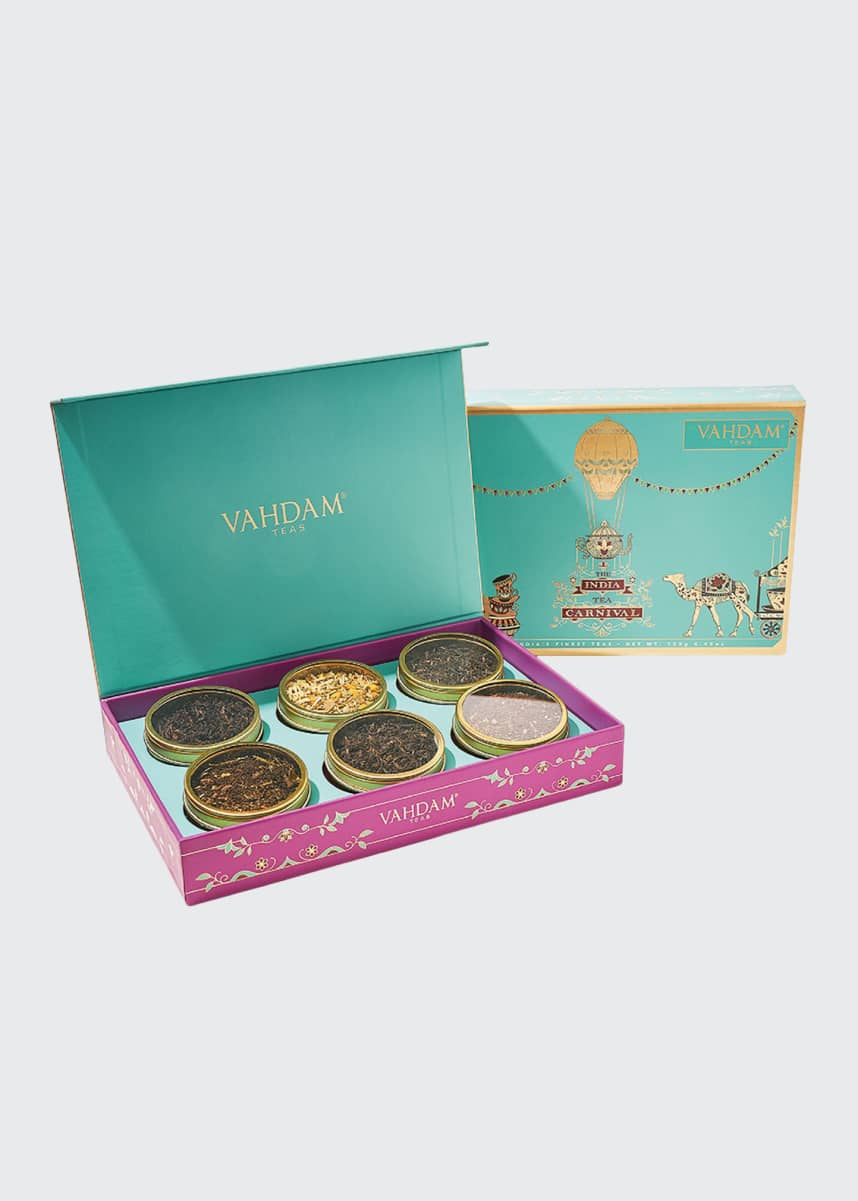 Vahdam Teas India Tea Carnival - 3 Teas Gift Box Set
