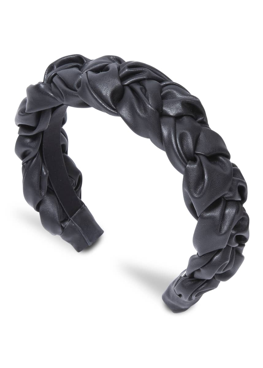 Jennifer Behr Lorelei Vegan Leather Headband