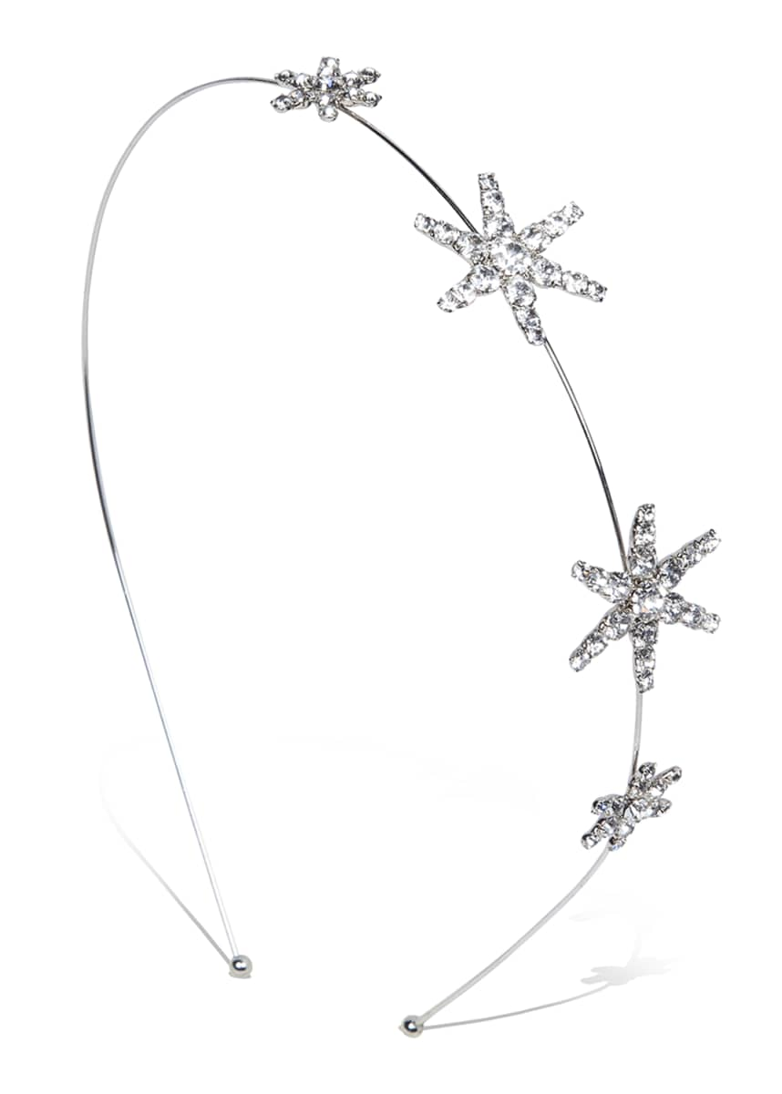 Jennifer Behr Hilla Crystal Star Headband