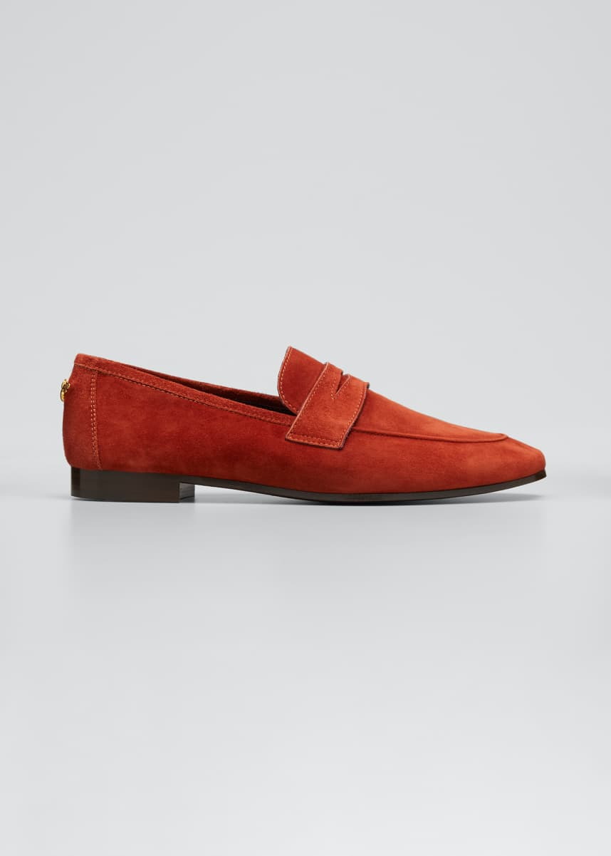 Bougeotte Suede Classic Penny Loafer