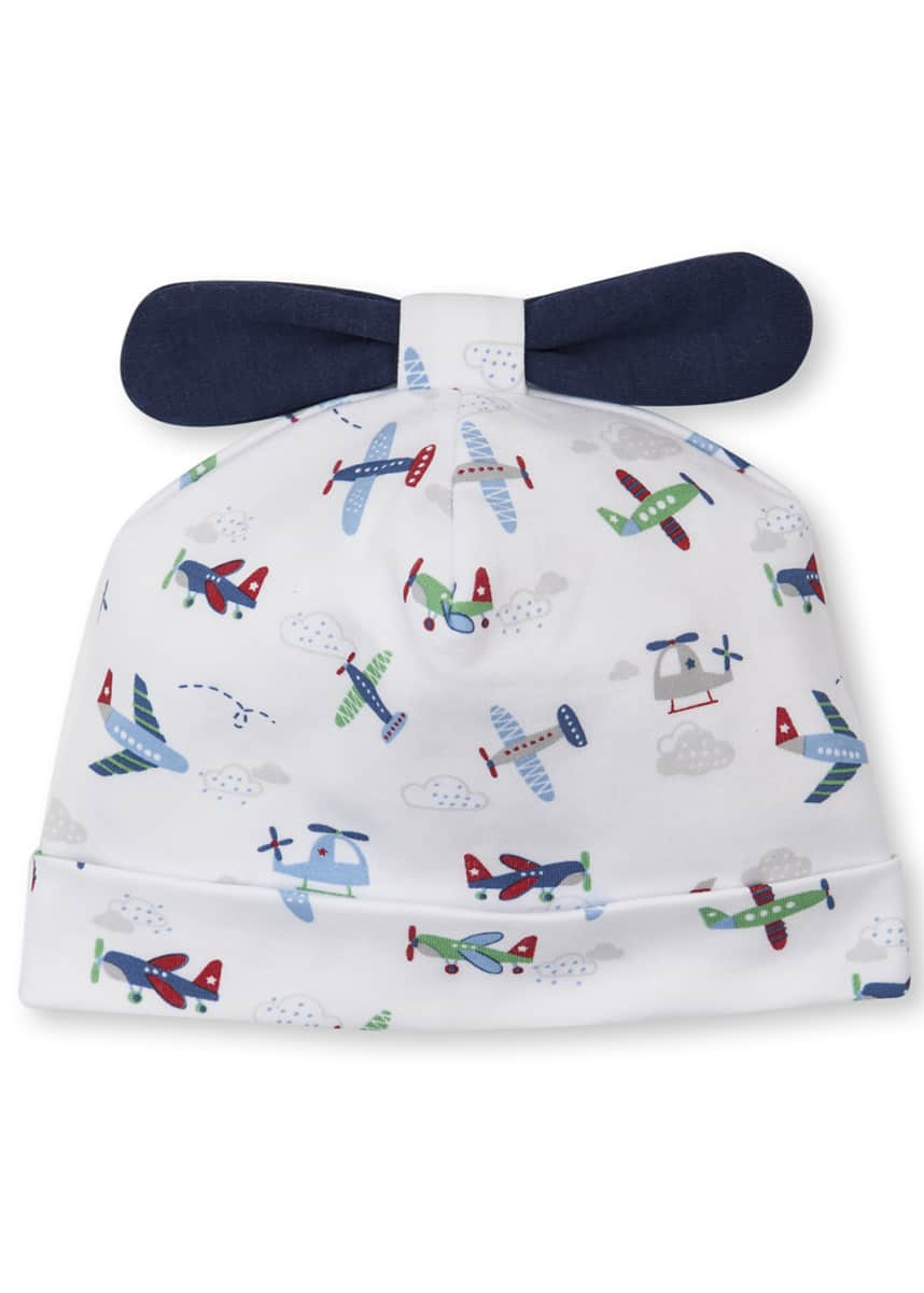 Kissy Kissy Awesome Airplanes Pima Baby Hat