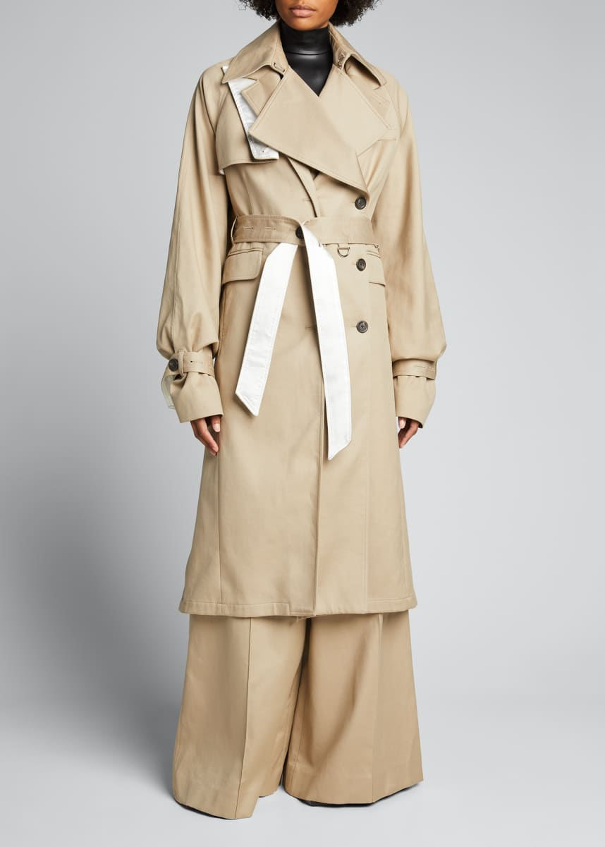 Peter Do Oversized Trench Coat