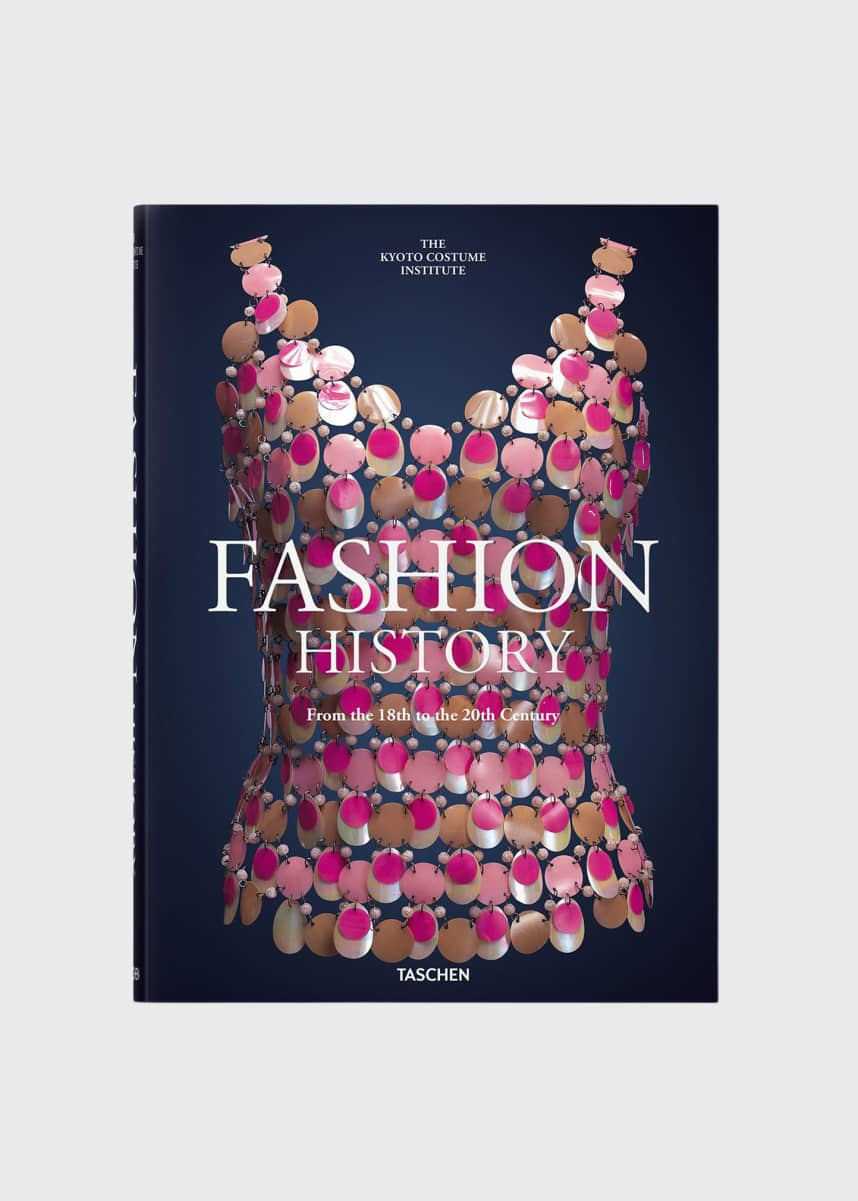 "Taschen ""Fashion History From the 18th to the 20th Century"" Book"