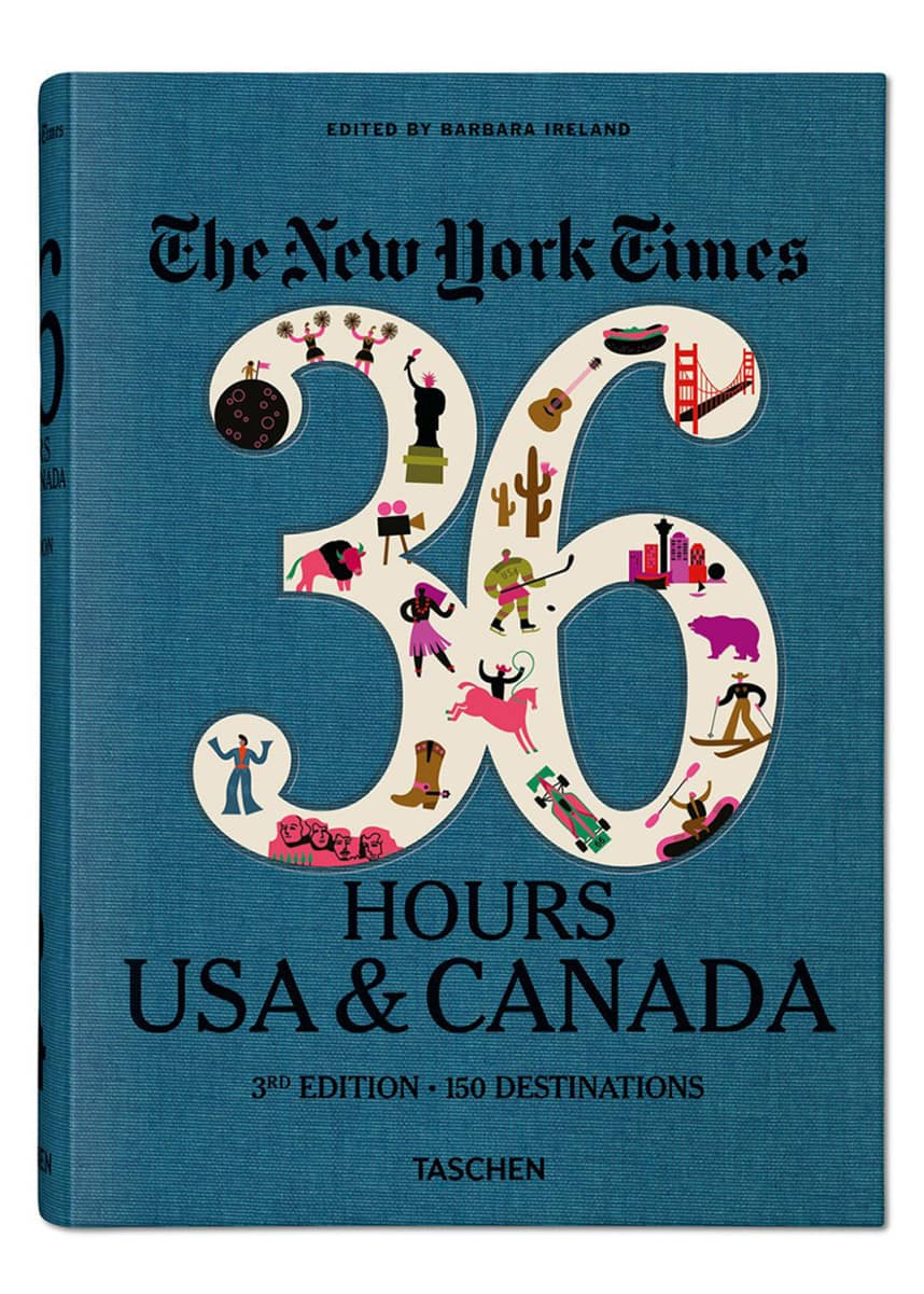 "Taschen ""NYT. 36 Hours. USA & Canada, 3rd Edition"" Book"