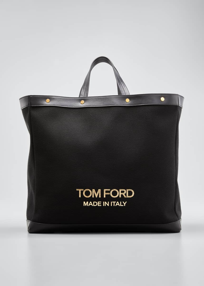 TOM FORD Medium Logo Shopping Tote Bag