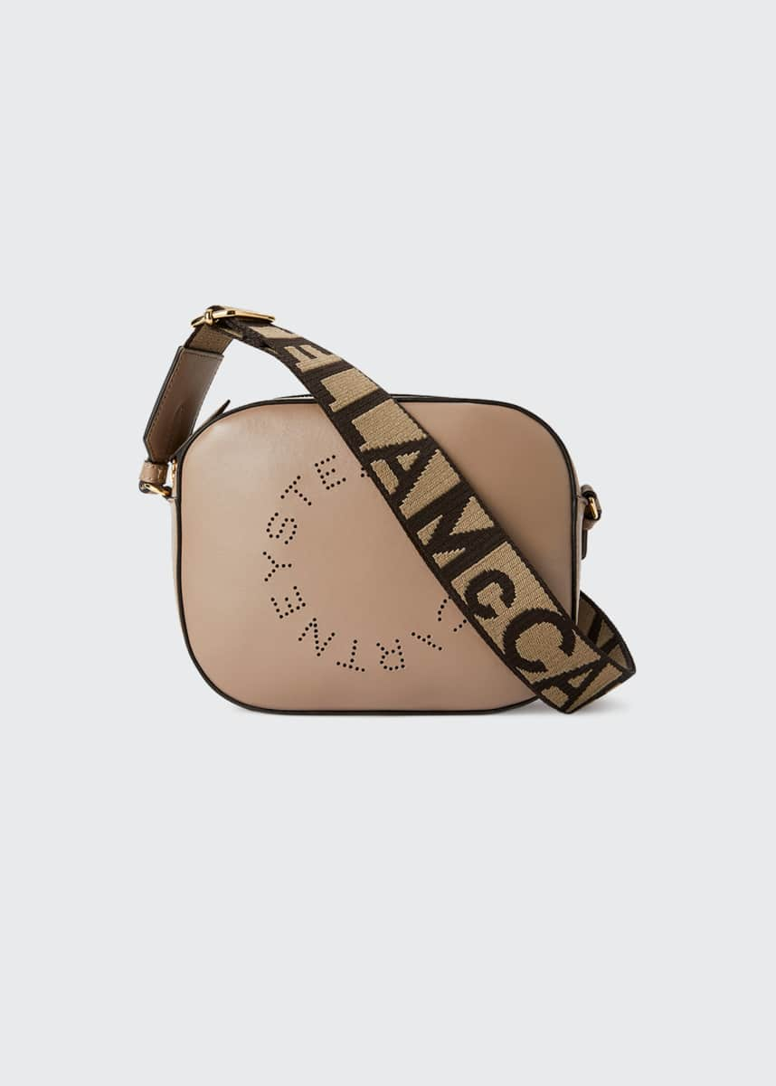 Stella McCartney Perforated Logo Alter Napa Camera Bag