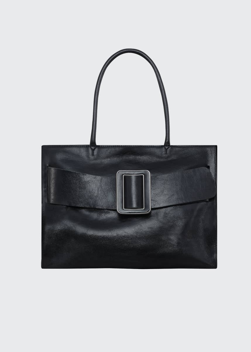 Boyy Bobby Moto Leather Tote Bag