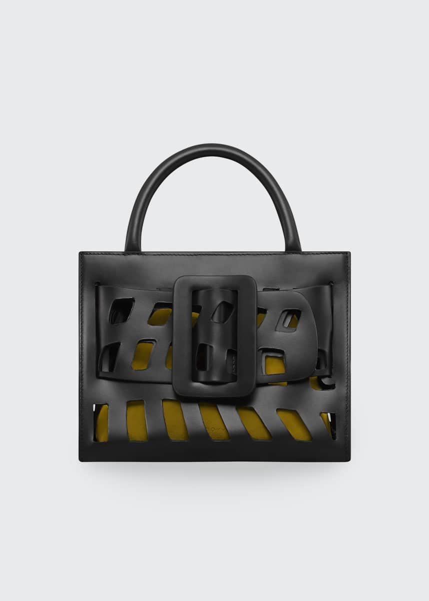 Boyy Bobby 23 Mini Laser-Cut Top Handle Bag