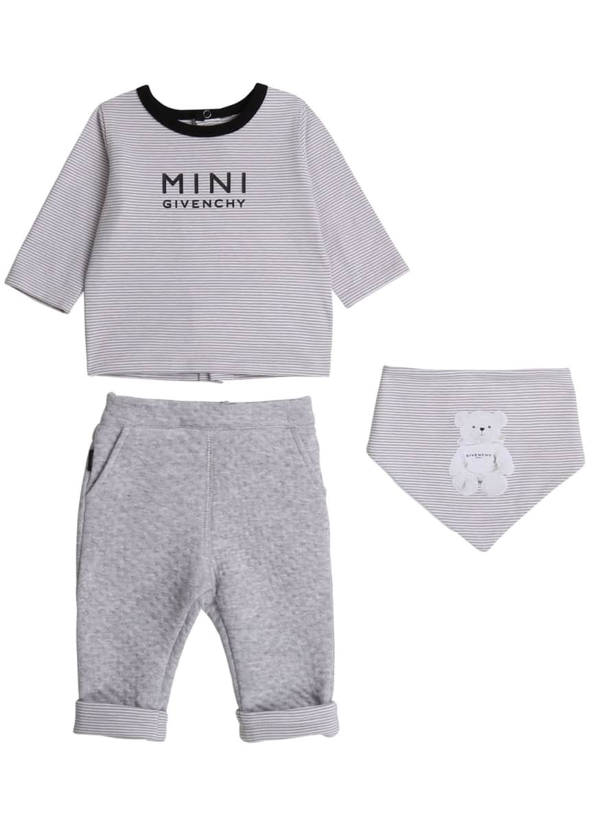 Givenchy Boy's 3-Piece Layette Set, Size 1-9 Months