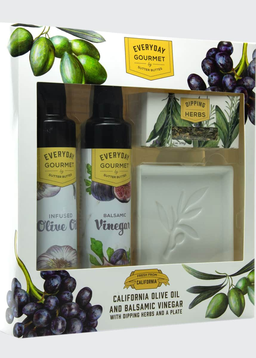 Sutter Buttes Natural and Artisan Foods Dipping Gift Set