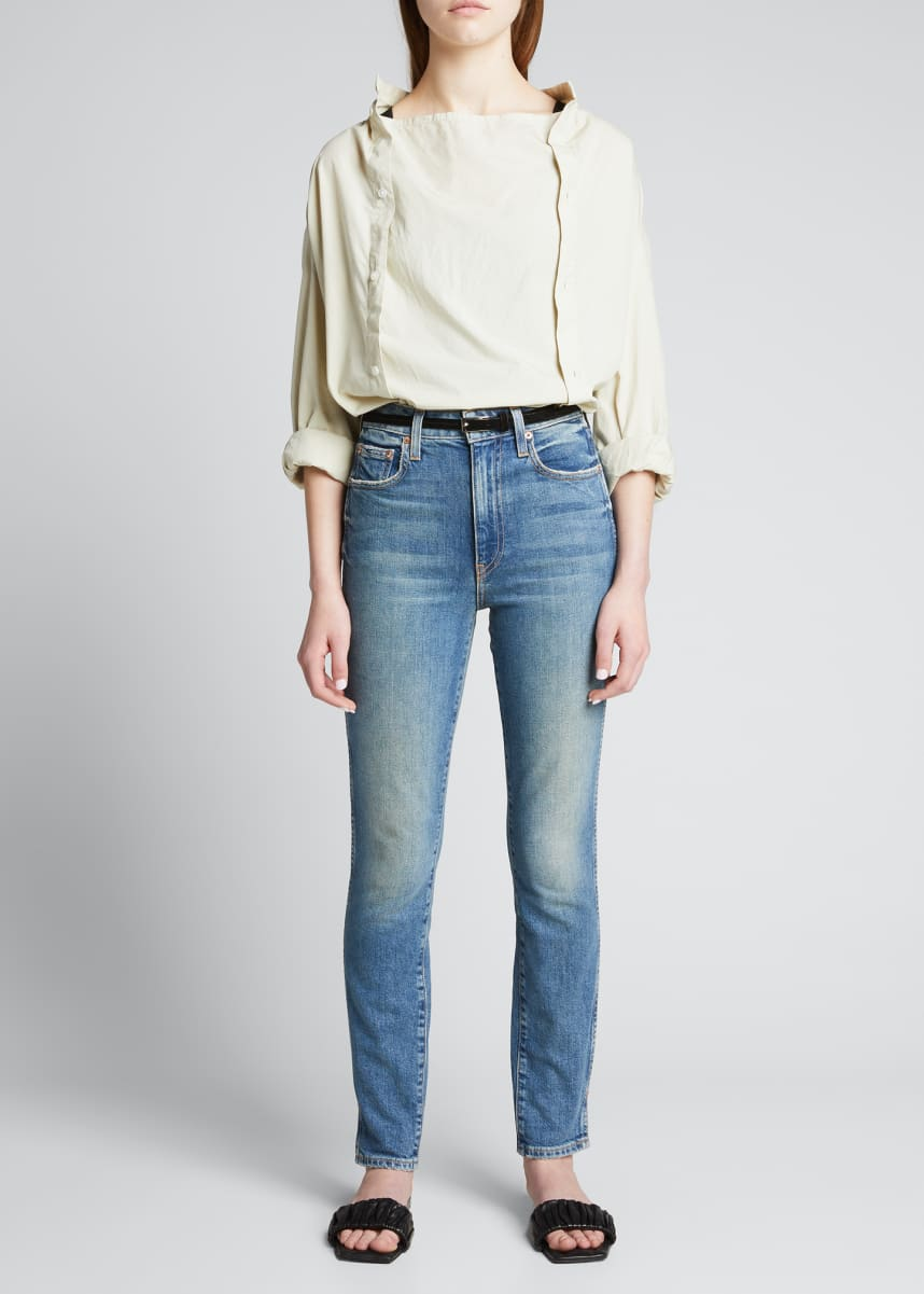 TRAVE Lawson Slim High-Rise Jeans