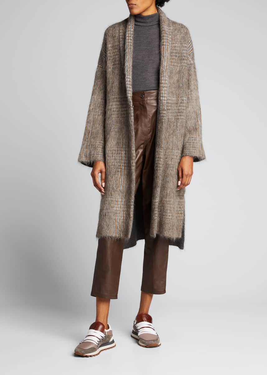 Brunello Cucinelli Wool-Blend Turtleneck Top