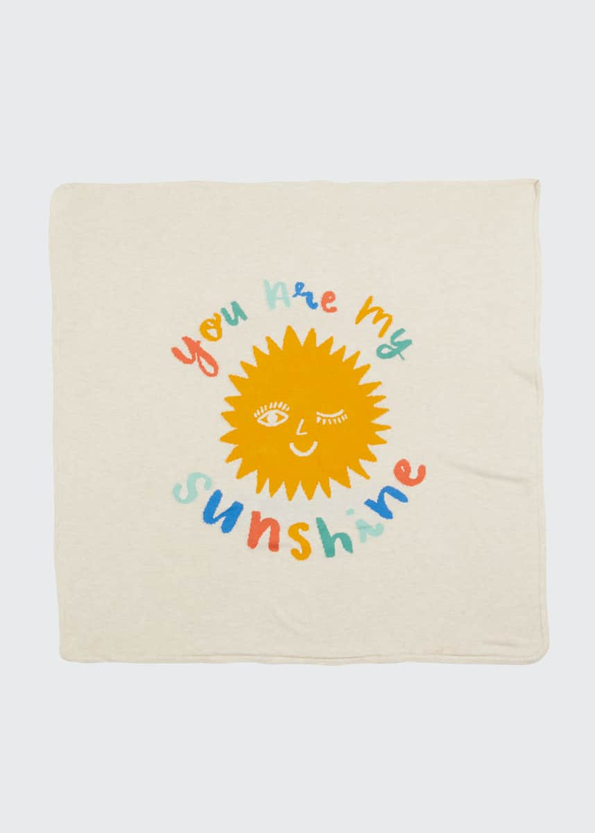 Angel Dear Sunshine Cotton Knit Blanket