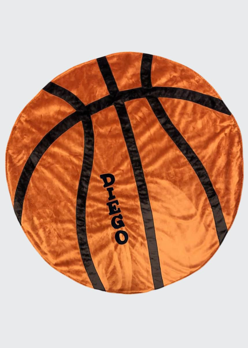Boogie Baby Personalized Basketball Blanket
