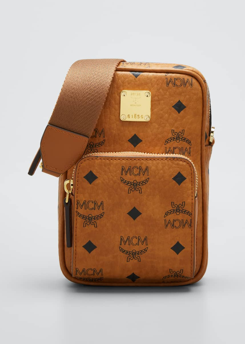 MCM Visetos Mini Crossbody Bag
