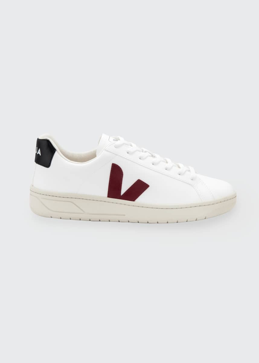 VEJA Urca Tricolor Vegan Leather Low-Top Sneakers