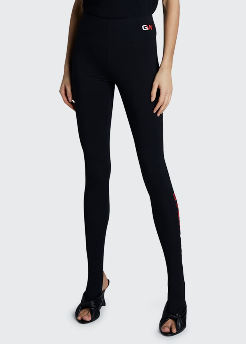 Balenciaga Gym Wear Foot Leggings
