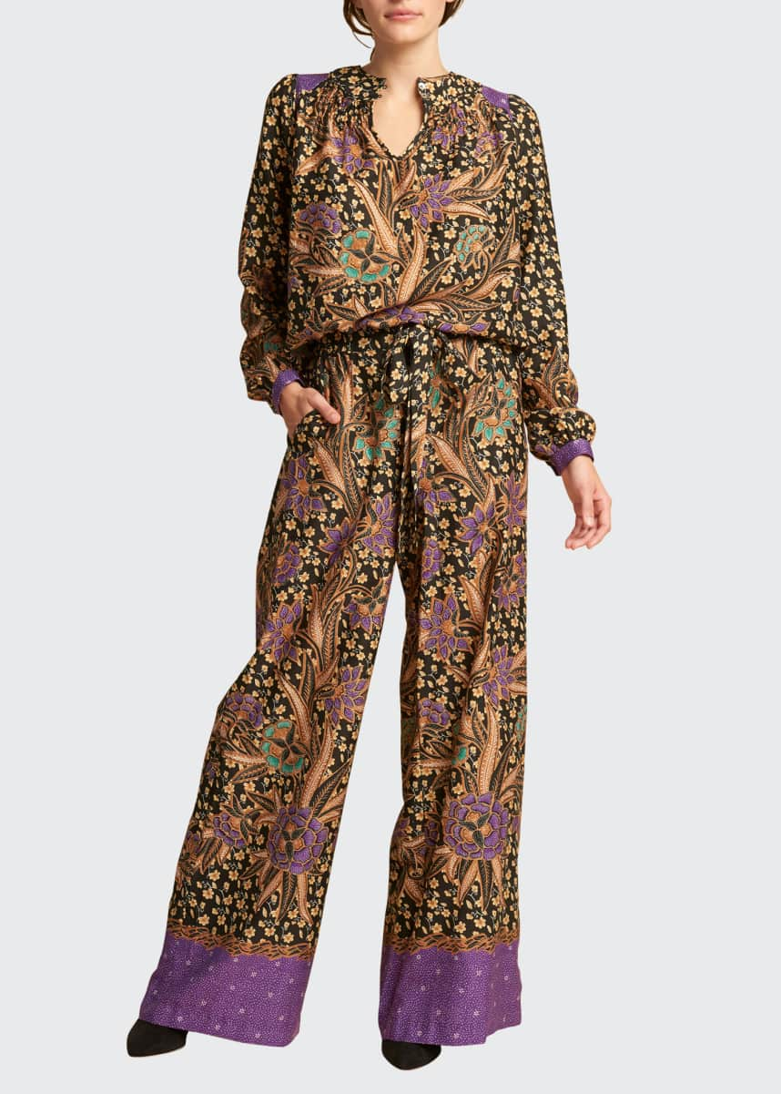 Warm Pickford Wide-Leg Pants