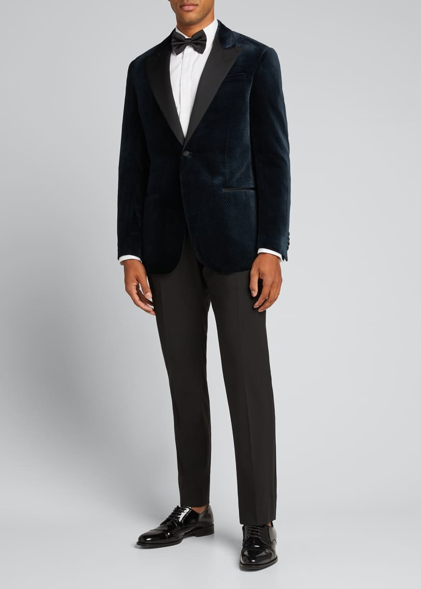 Emporio Armani Men's Velvet Peak-Lapel Dinner Jacket