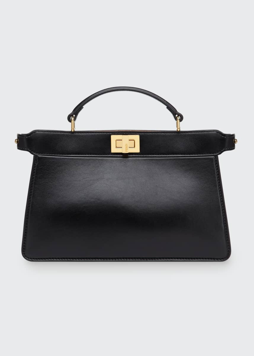 Fendi Peekaboo Medium Top Handle Tote Bag