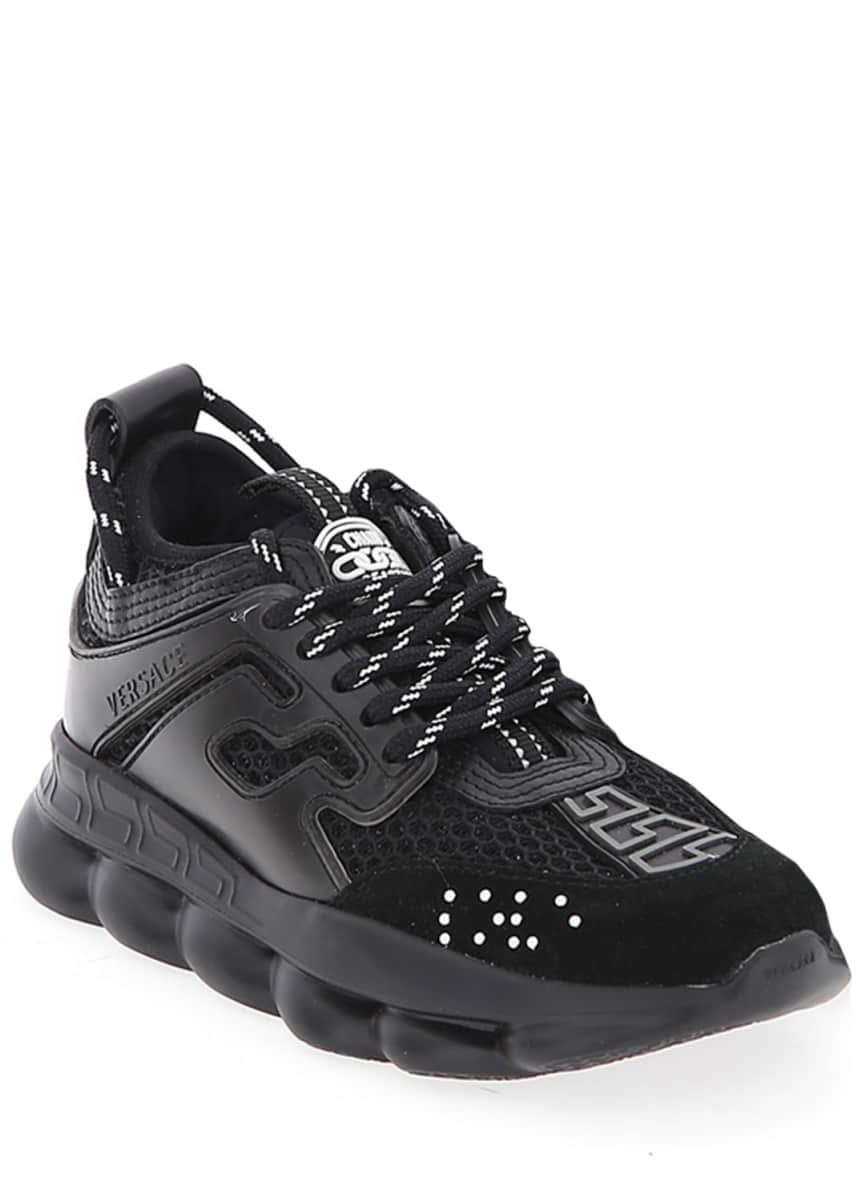 Versace Chain Reaction Chunky Sneakers, Toddler/Kids