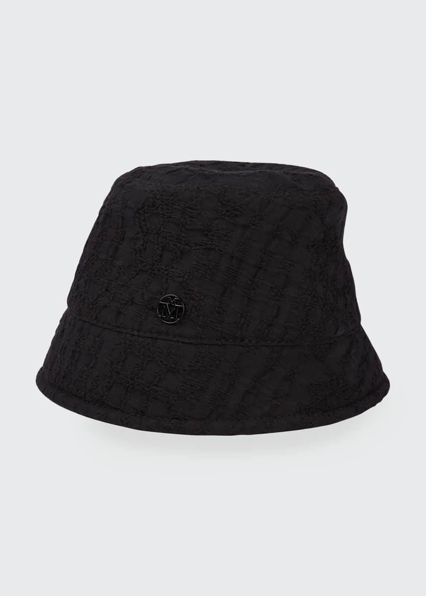 Maison Michel Souna Textured Bucket Hat