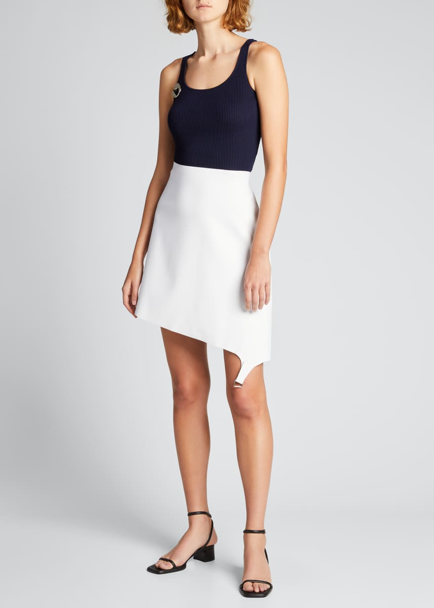 Coperni Upside Down Midi Skirt