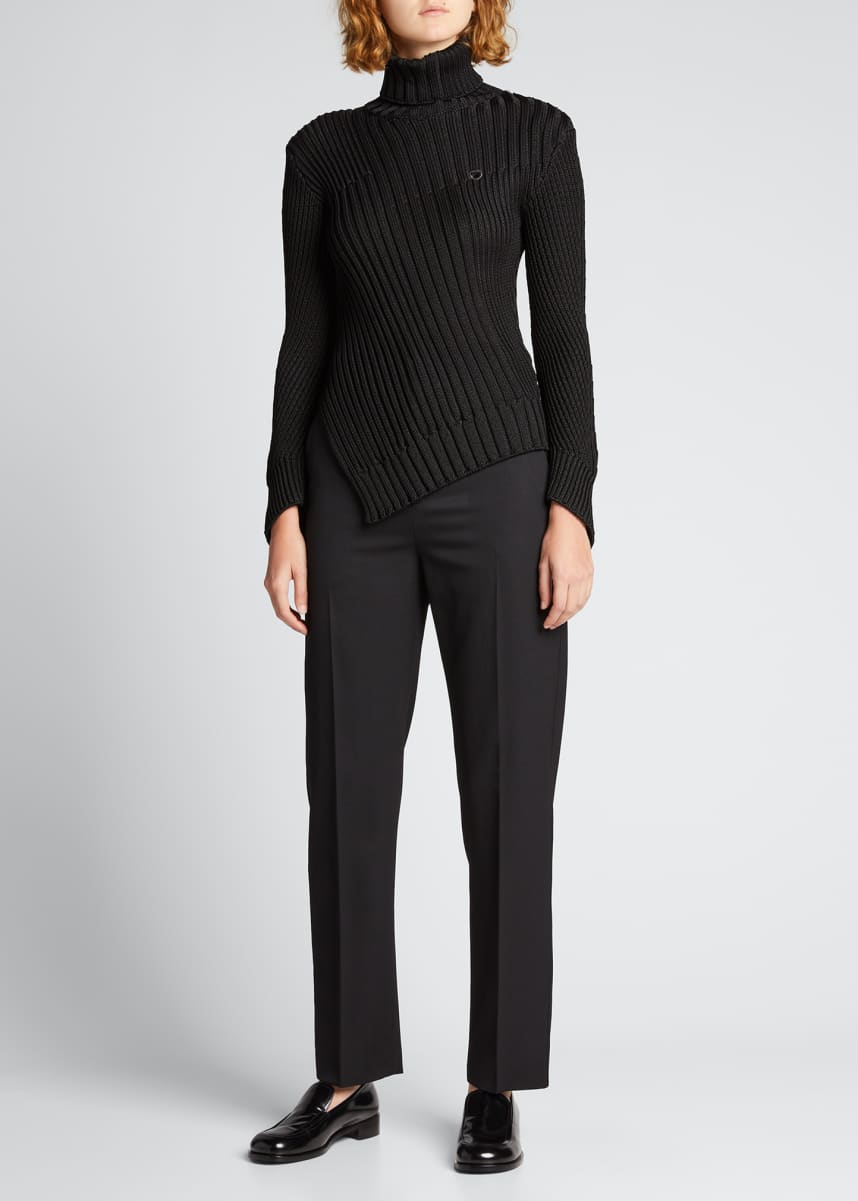 Coperni Mix Motion Turtleneck Sweater