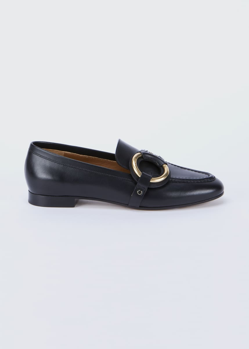 Chloe Demi C Buckle Loafers