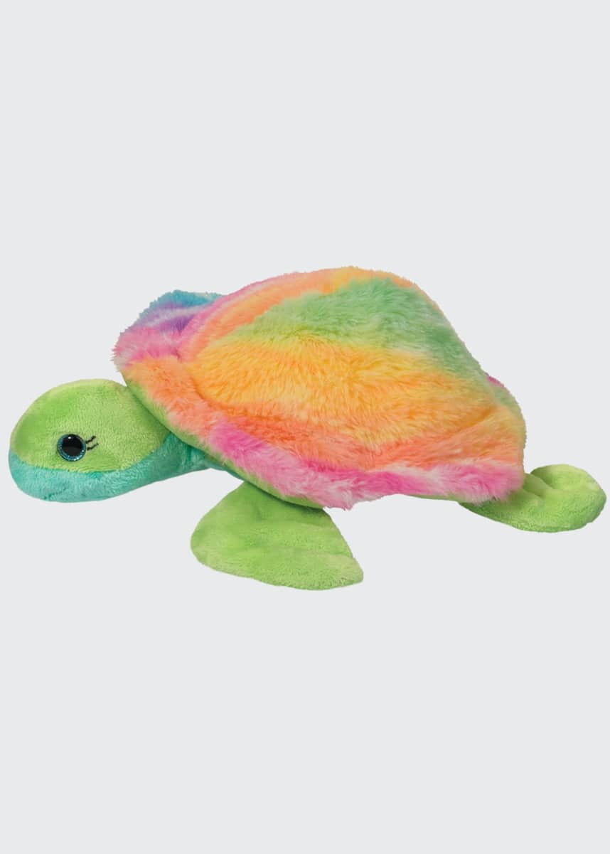 Douglas Nyla the Rainbow Sea Turtle Plush Toy