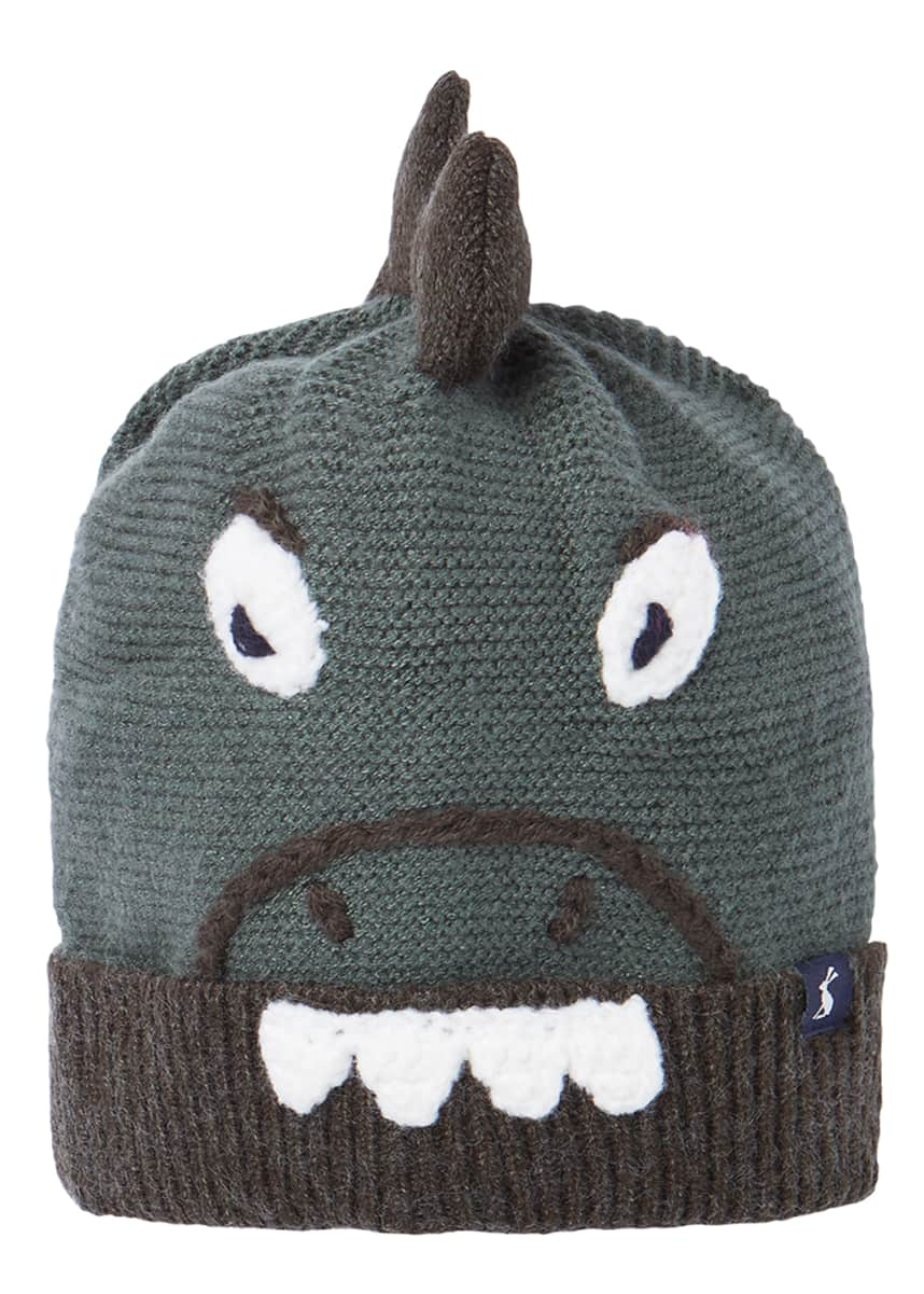 Joules Kids' Chummy Dino Character Hat