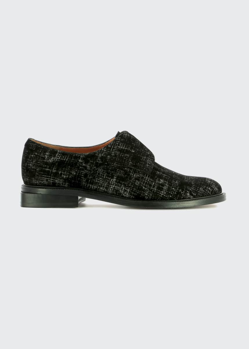 Clergerie Paris Rayane Bicolor Laceless Derby Loafers