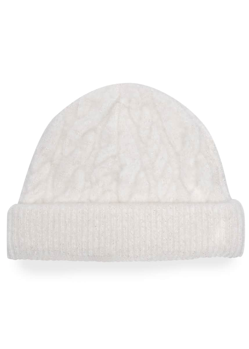 Eugenia Kim Roan Wool-Blend Cable Knit Beanie
