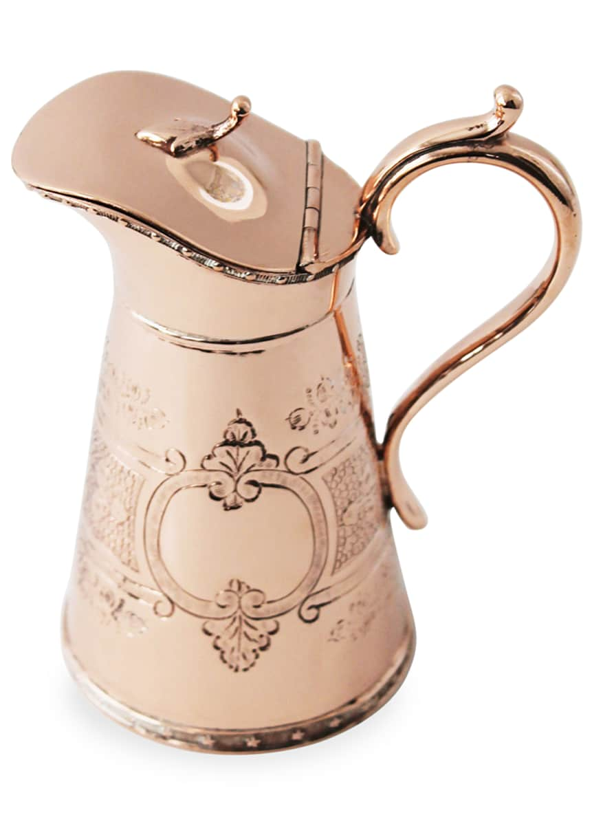 Coppermill Kitchen Copper & Silver Creamer Jug (Late 19th Century)