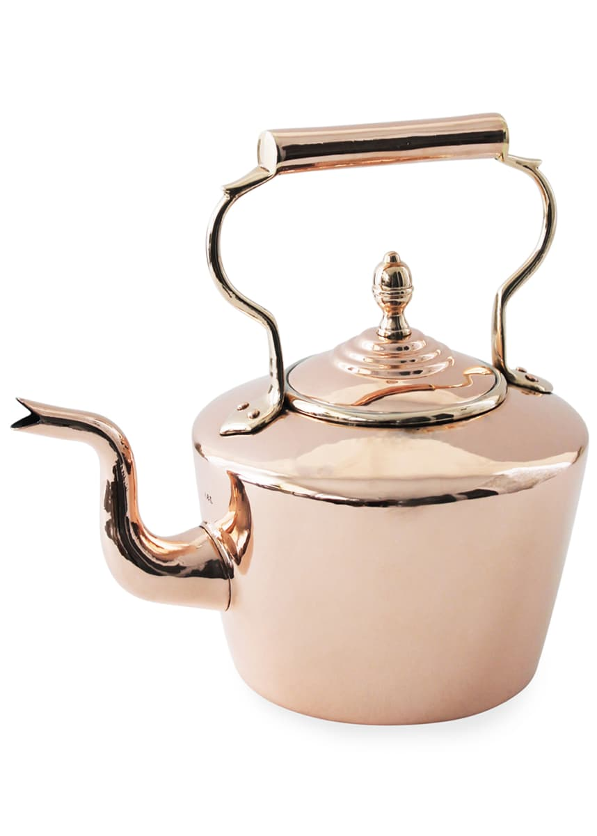Coppermill Kitchen English Tea Kettle (Late 19th Century)