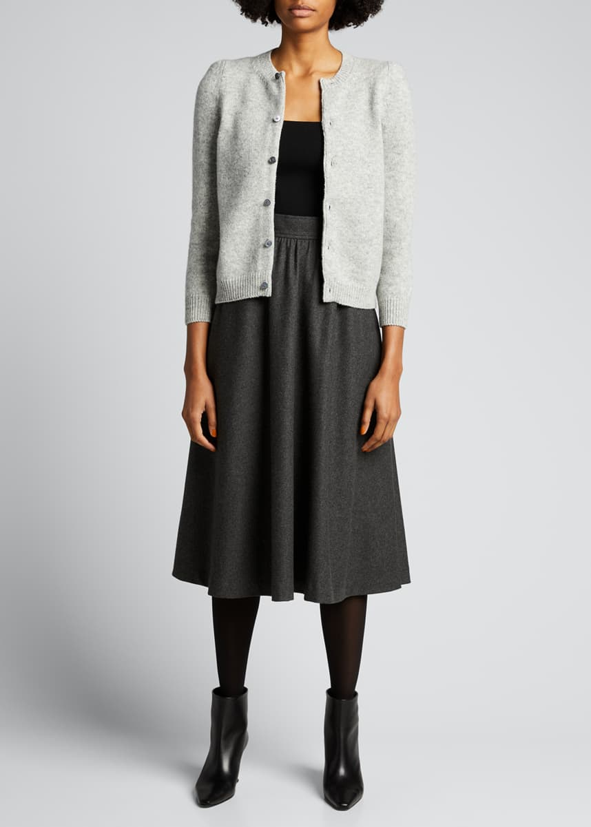 Marc Jacobs (Runway) Button-Front Cashmere Cardigan