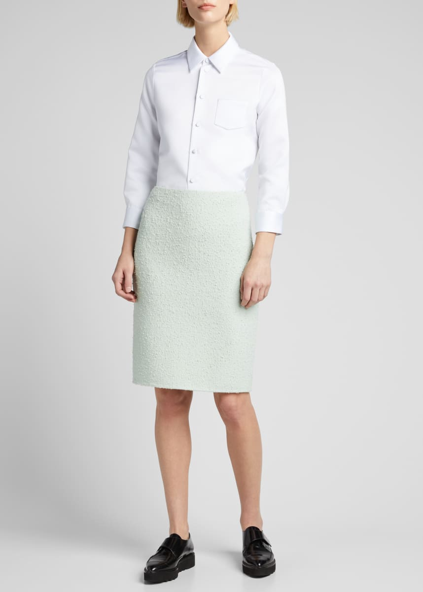 Marc Jacobs (Runway) Boucle Knit Pencil Skirt