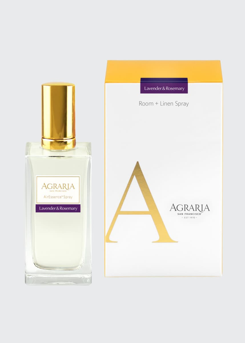 Agraria Lavender & Rosemary AirEssence Room Spray, 3.4 oz./ 100 mL