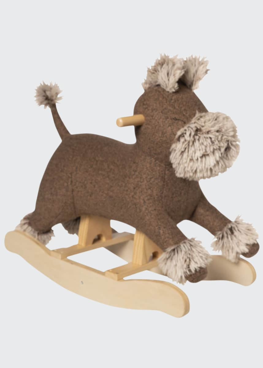 Manhattan Toy Terrier Dog Plush Rocker