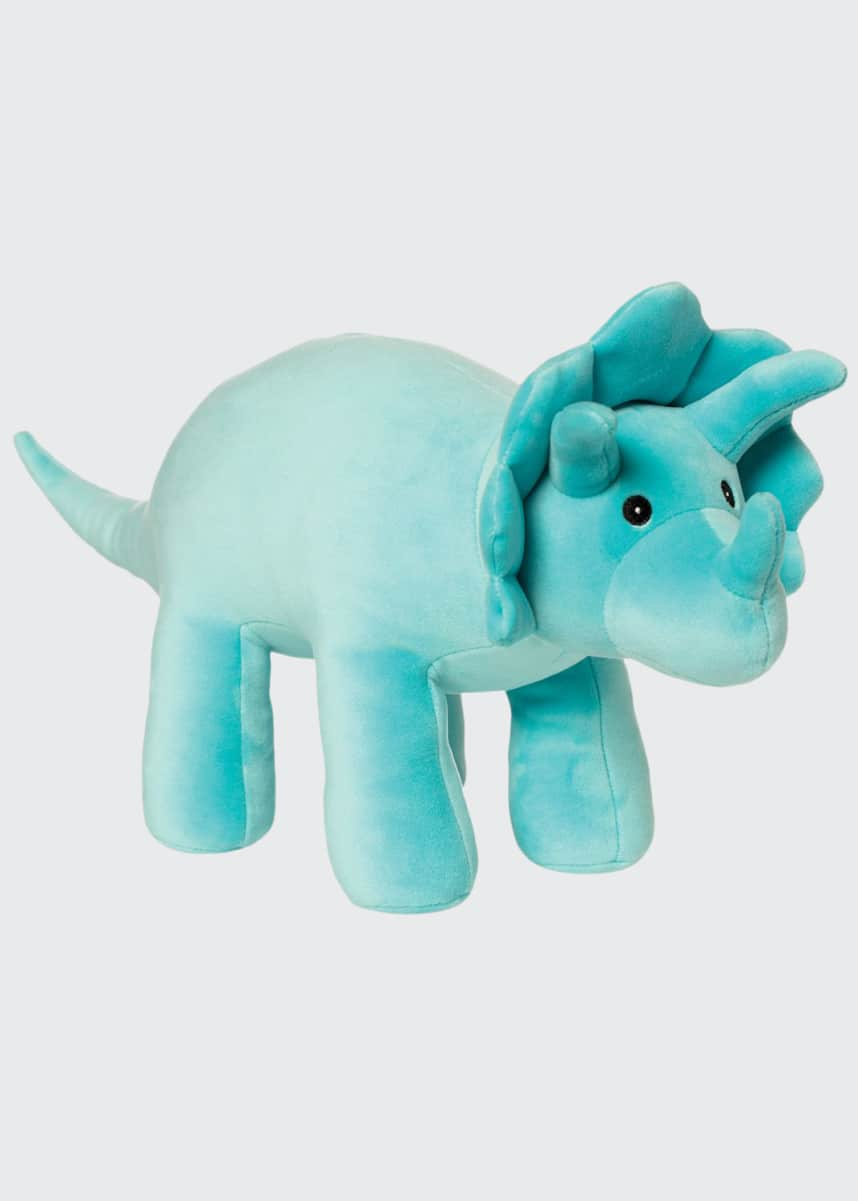 Manhattan Toy Spike Velveteen Triceratops Plush Toy