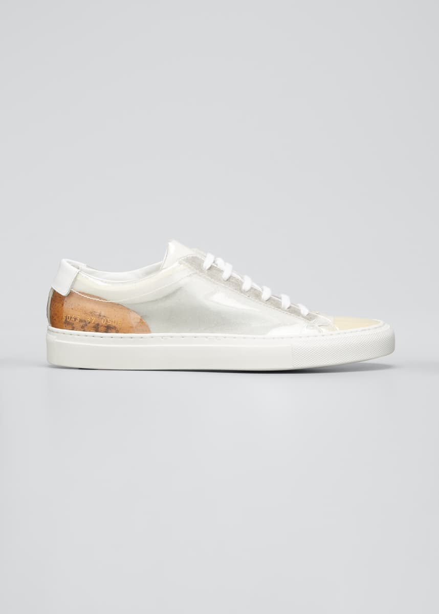 Common Projects Achilles Clear Low-Top Sneakers